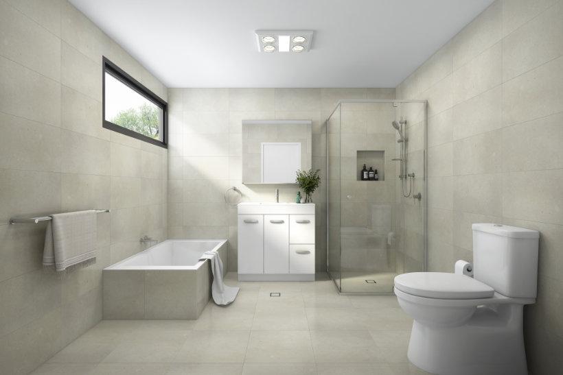 Bathroom Designs - Beige Style