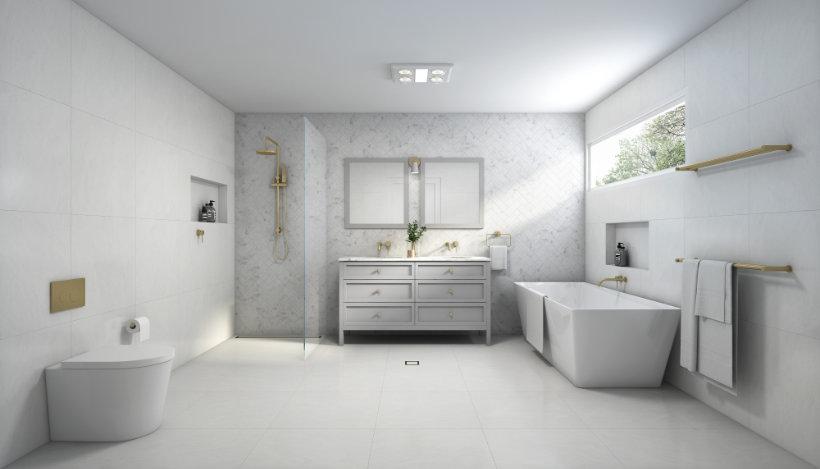 Bathroom Designs - Hamptons Style