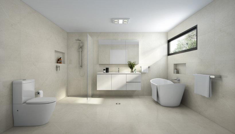 Bathroom Designs - Stone Look