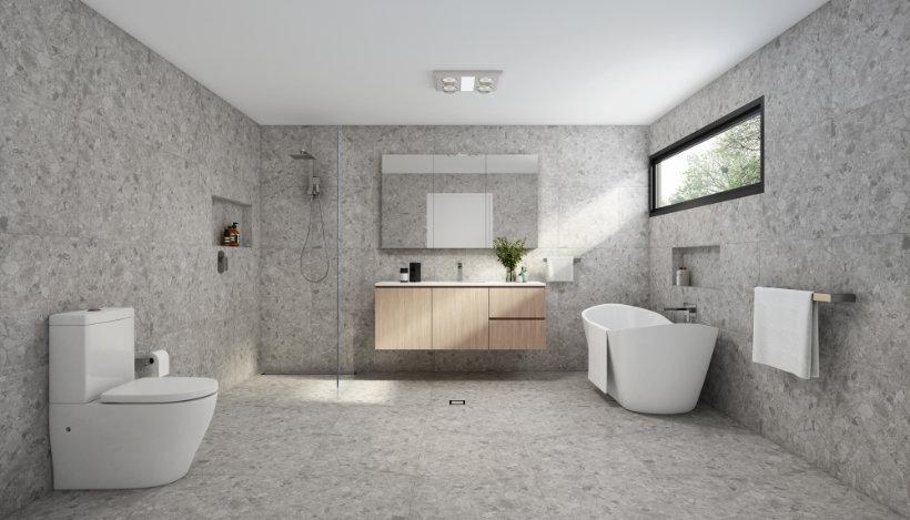 Bathroom Designs - Terrazzo Look