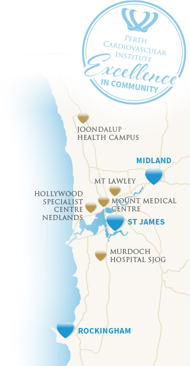 Perth Bulk Bill Cardiac Testing Locations