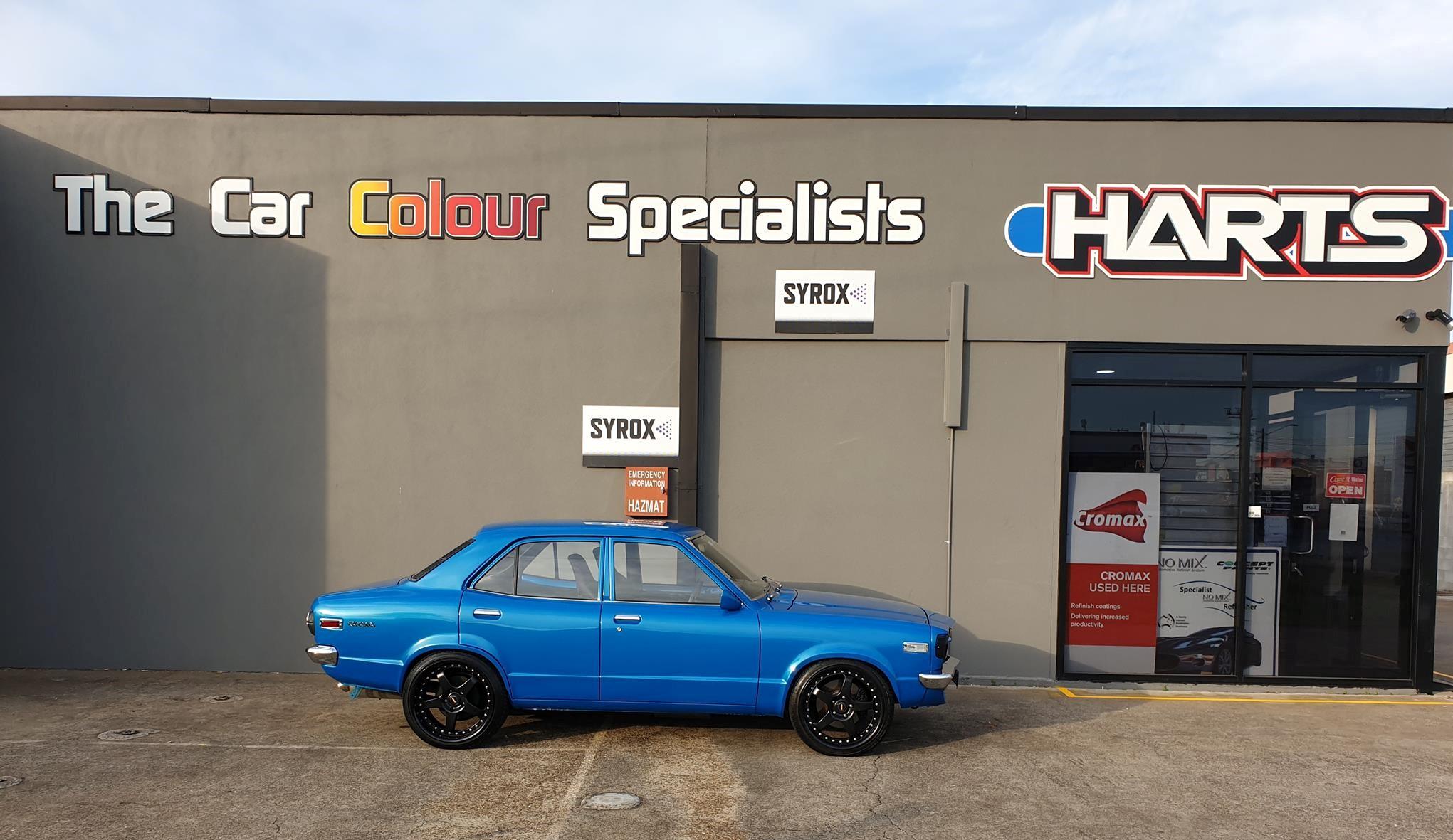 Harts Automotive Paint Supplies Slacks Creek