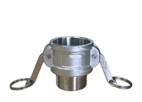 Aluminium Female Camlock x Male BSP - Type B