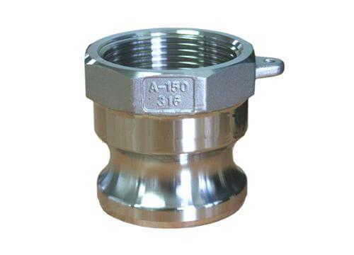 Aluminium Male Camlock X Female BSP - Type A