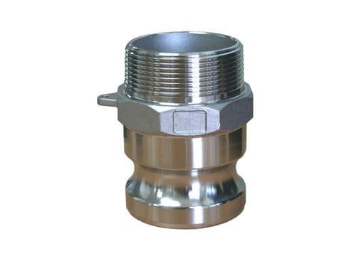 Aluminium Male Camlock x Male BSP - Type F