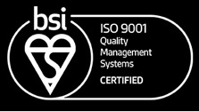 BSI - ISO 9001 Quality Management Systems Certified