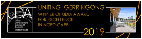 Winner of UDIA Award fo Excellence in Aged-Care