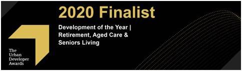 The Urban Developer Awards - 2020 Finalist Development of The Year | Retirement, Aged Care & Seniors Living