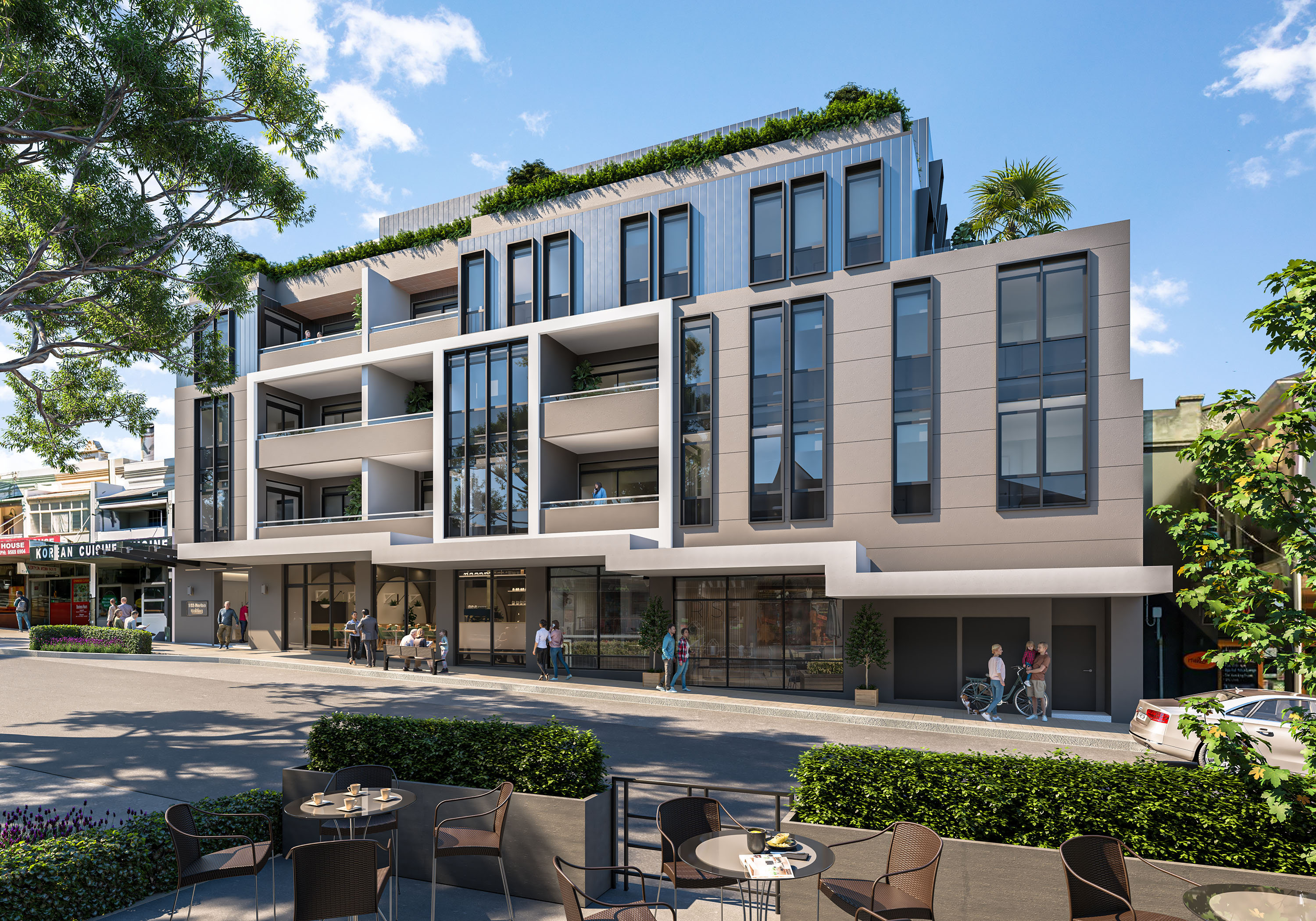 Uniting Norton Street - Mixed Use Multi-Residential Apartments