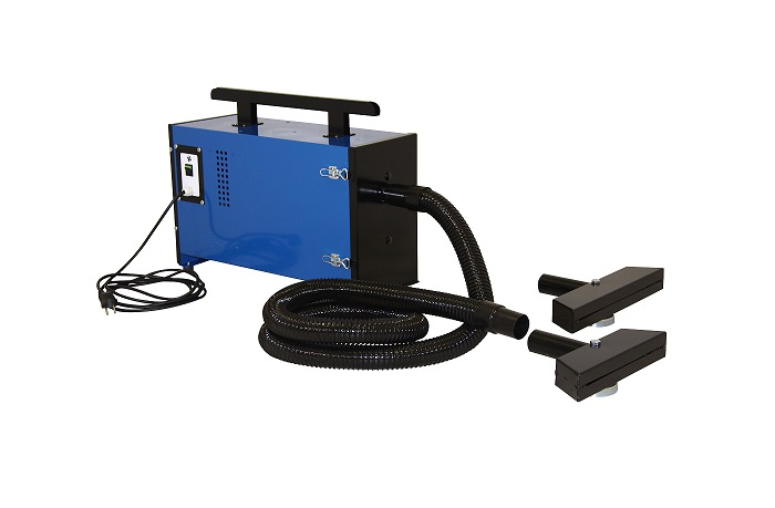 Portable filtered fume extraction units