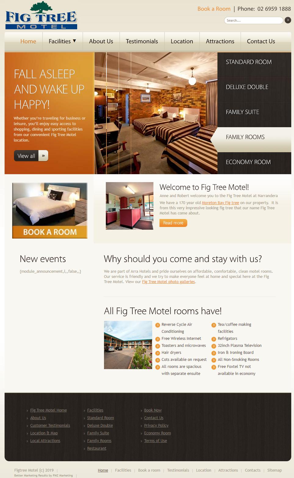 Fig Tree Motel :: PMZ Marketing Client