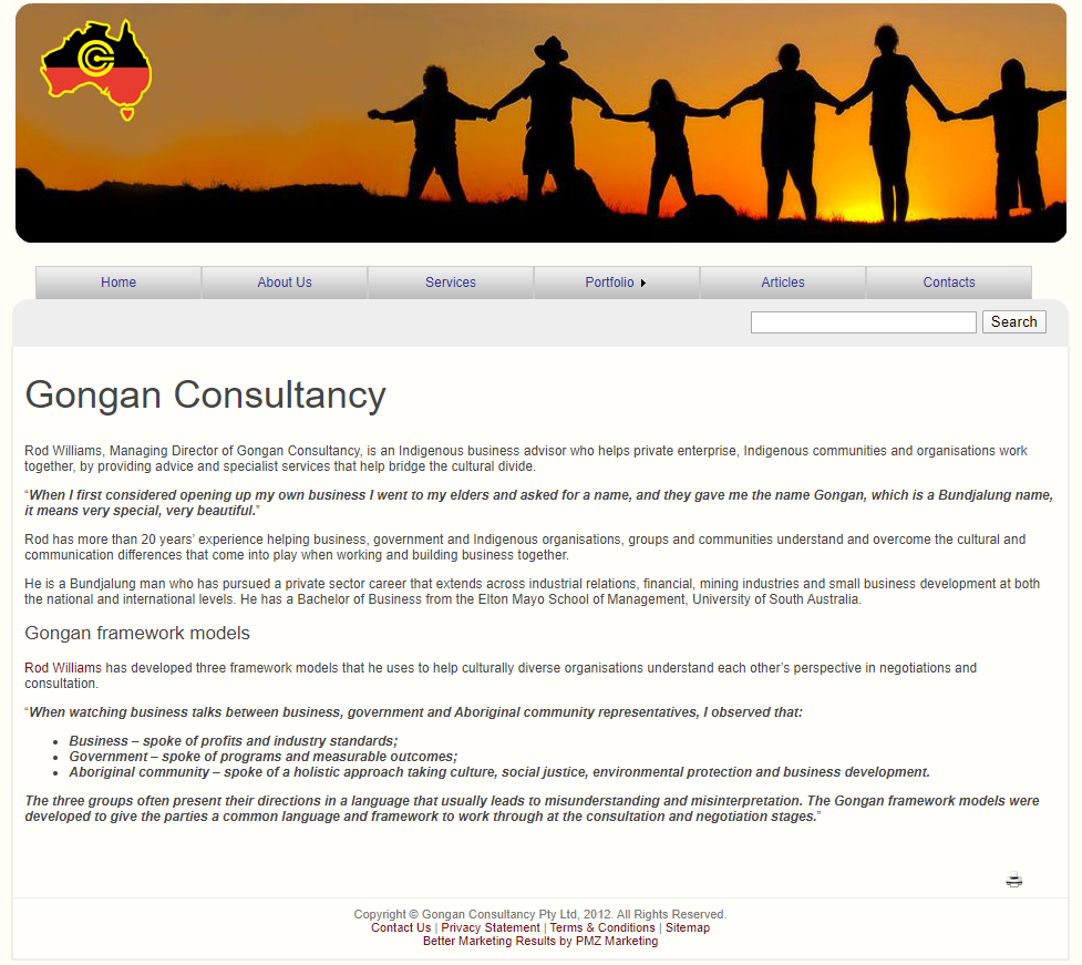 Gongan Consultancy :: PMZ Marketing Client