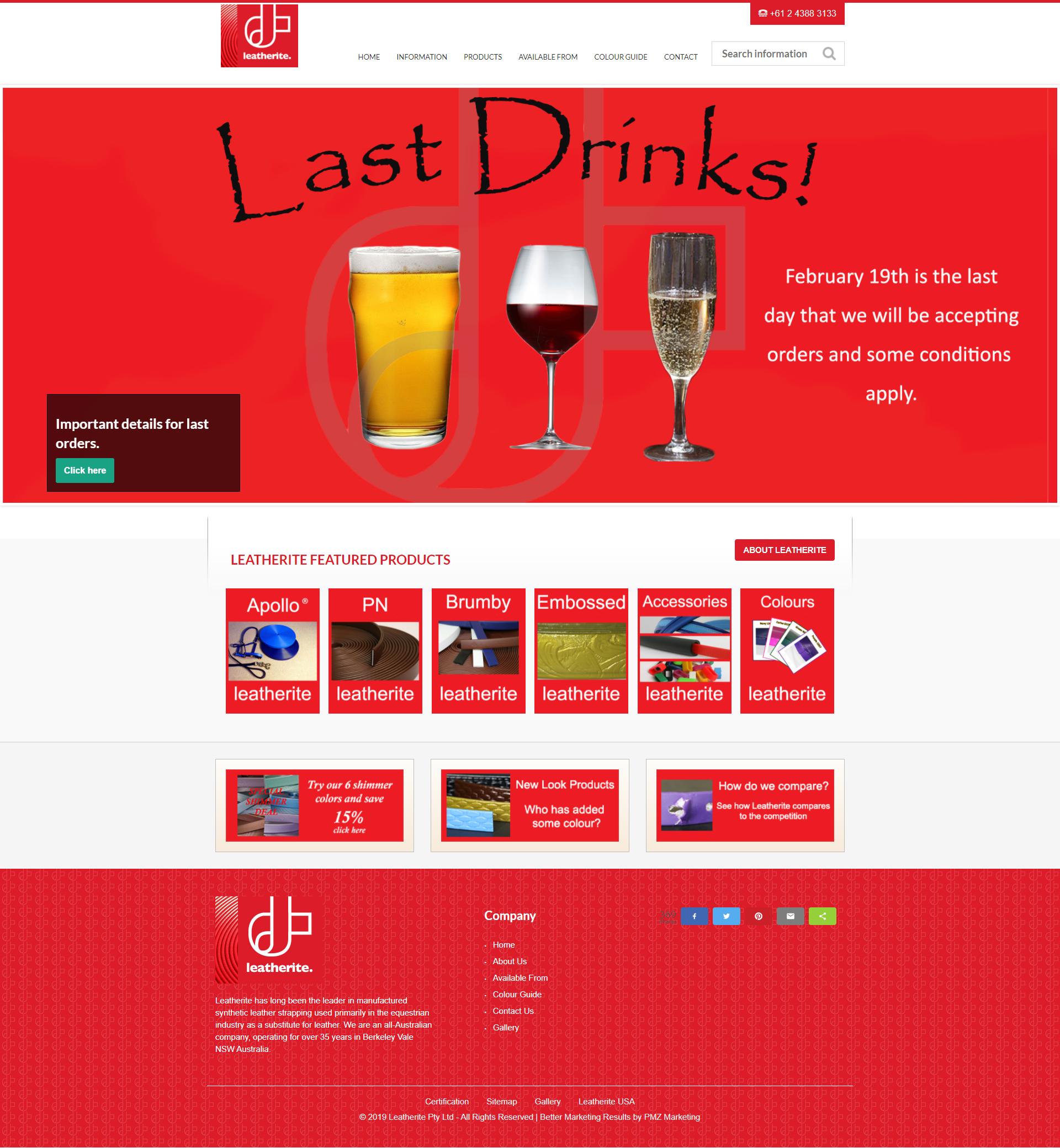 Leatherite Pty Ltd :: PMZ Marketing
