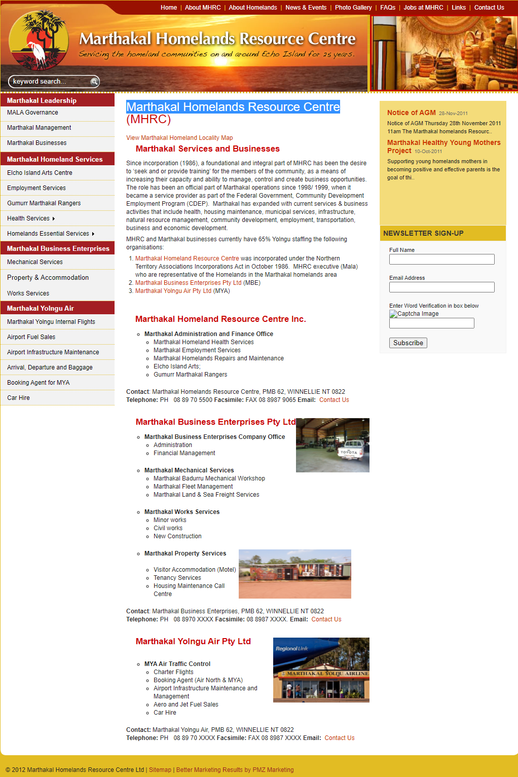 Marthakal Homelands Resource Centre