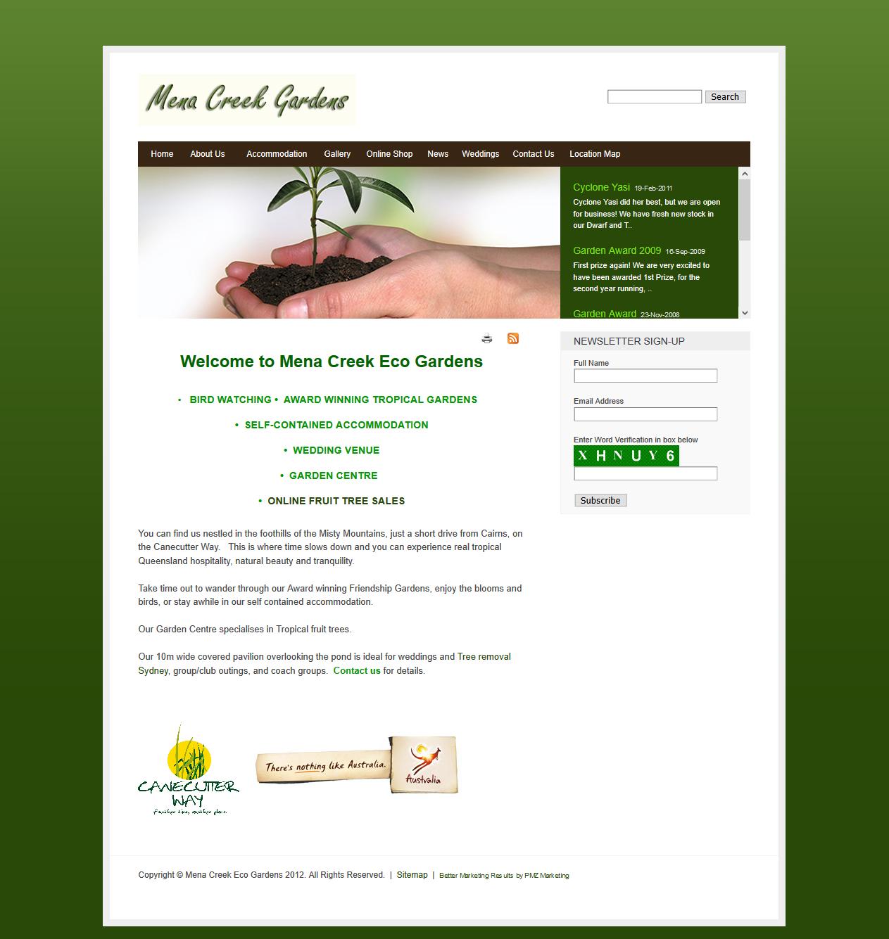 Mena Creek Eco Gardens