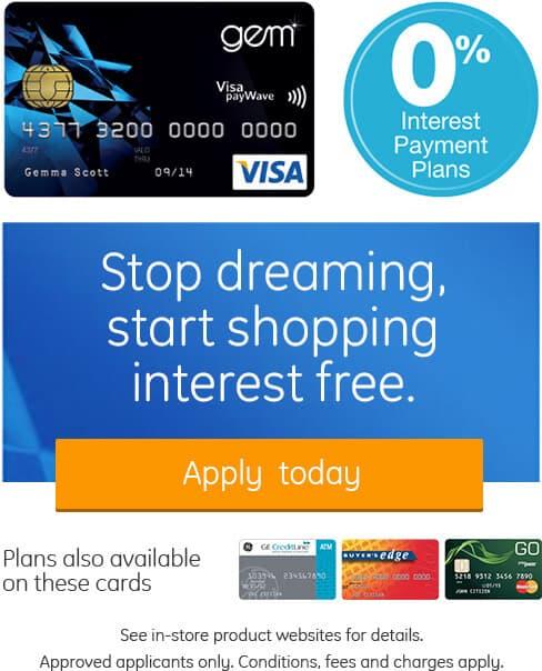GE Money and Visa Gem Card