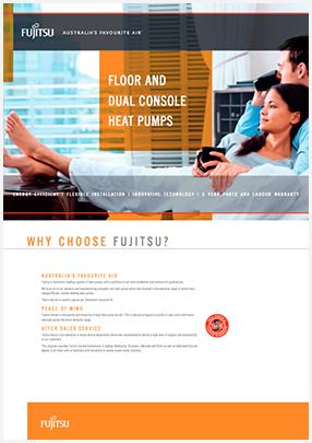 Fujitsu Floor and Dual Console