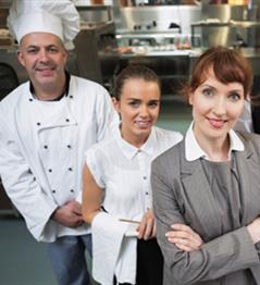 Commercial Cookery & Hospitality Courses