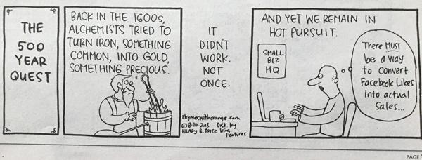 Facebook - Likes vs Sales