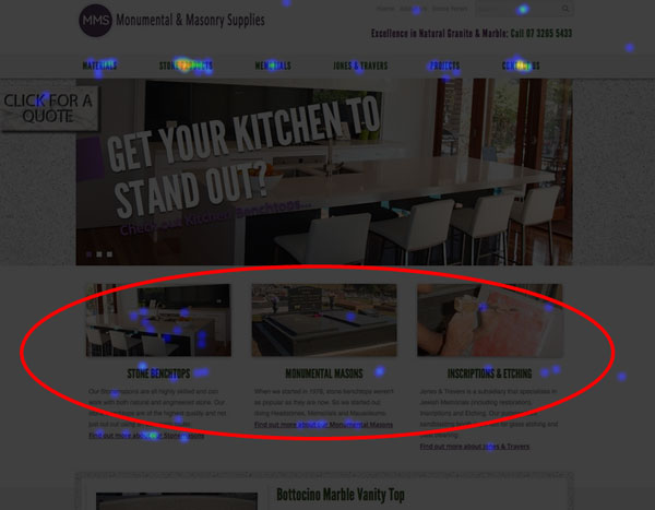 Website User Experience - Confusing Navigation