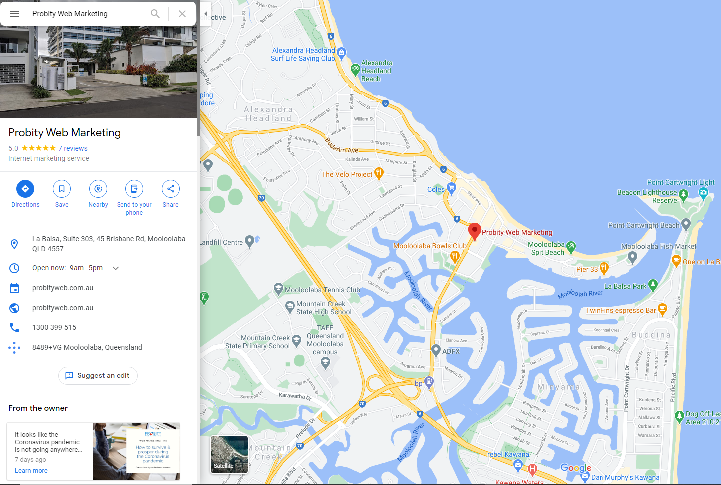 Local SEO - GMB for Map Search