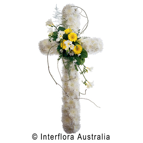 Traditional Cross with Spray