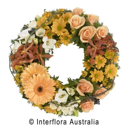 Wreath soft tonings