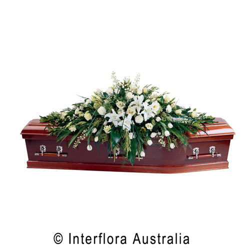 Large Traditional Coffin Spray