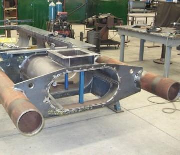 Twin Screw Conveyor With Slide Gate