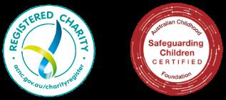 Registered charity logos