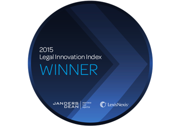 2015 – The Fold – Janders Dean Lexis/Nexis Legal Innovation Index