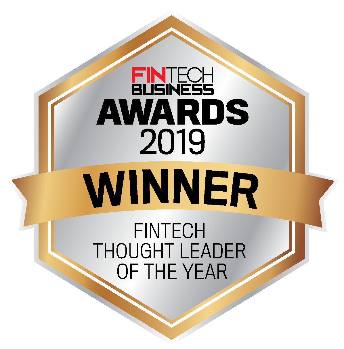 2019 – Charmian Holmes – Fintech Business Awards – Fintech Thought Leader of The Year