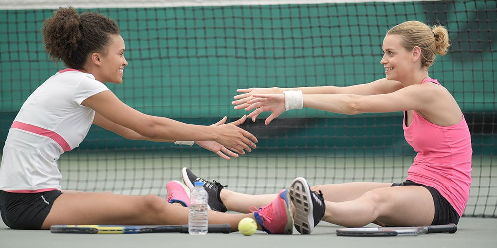 The 7 Best Stretches For Tennis Players