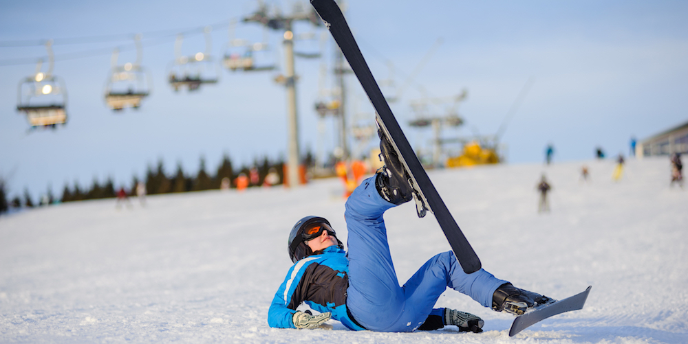 Snowboarding vs Skiing injuries - Who gets hurt more?
