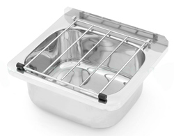 3Monkeez AB-CS-B Cleaners Sink with Grate