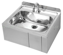 3Monkeez AB-KNEEHBTMV-1 Knee Operated Thermostatic Mixing Valve 11.5 Ltr Hand Basin