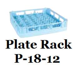 Hobart P-18-12 Dishwasher Plate Rack