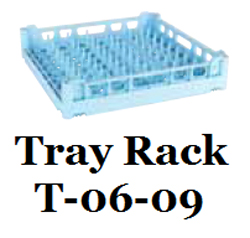 Hobart T-06-09 Dishwasher Open Ended Tray Pan Rack