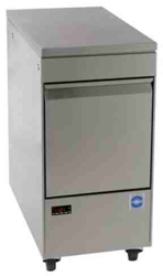 Adande VCC1-GCW Compact Single Drawer Unit Solid Work Top