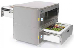 Adande VCM2-CW Matchbox System Double Drawer Solid Work Top