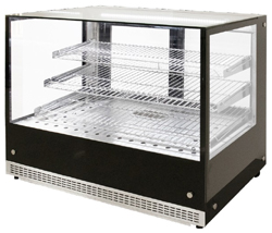 Airex AXH.FDCTSQ.09 Counter Top Heated Food Display 900mm