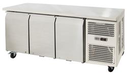 Airex AXR.UCGN.3 Under Counter 3 Solid Door Fridge