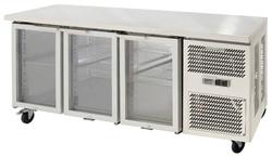 Airex AXR.UCGN.3G Under Counter 3 Glass Door Fridge