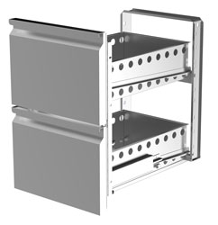 Airex AXR.UCGN.DK.2 Drawer Kit with 2 Drawers