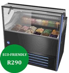 IARP Delight 7 Prime 7 Tub Scoop Ice Cream Freezer