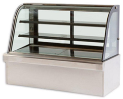 Vienna VC120 Curved Glass Serve Over Patisserie Counter
