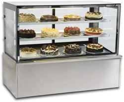 Vienna VF120 Flat Glass Serve Over Patisserie Counter