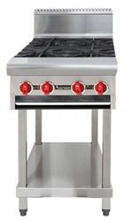 American Range AARHP.24.4 4 open Burner Boiling Top