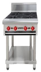 American Range AARHP.36.6 6 open Burner Boiling Top