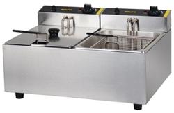 Apuro DL891-A Double Basket Deep Fryer